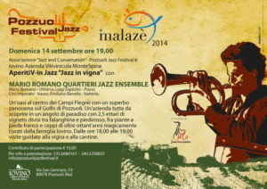 Cartolina Mario Romano Quartieri Jazz Ensemble