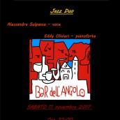 Alessandra Sulpasso ed Eddy Olivieri Jazz Duo al Bar dell'Angolo