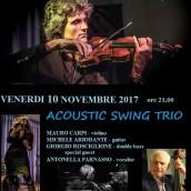 Il violinista Mario Carpi in quartetto al Music Art