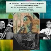 Pat Battstone Trio feat. Alessandra Sulpasso in concerto al Bar dell'Angolo