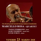 Il quartetto di Marcello Rosa al Music Art