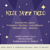 Nice Jazz Trio al Bar dell'Angolo