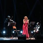 Claudia Gerini & Solis String Quartet_©SpectraFoto_15-12-2018_01
