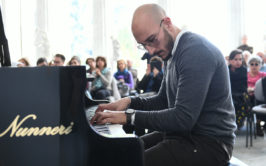 Gino Giovannelli trio guest star Luigi di Nunzio_Pignatelli Jazz_©SpectraFoto_17-3-2019_04