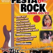"""""""Festa del Rock anni 60-70″ – Grande attesa a Gioia del Colle per la Maratona Musicale all'insegna del Rock"""