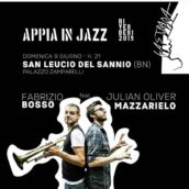 Fabrizio Bosso e Julian Oliver Mazzariello in Tandem a Riverberi 2019