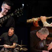 GIAMMARCO-TESSAROLLO-TAVOLAZZI-ROCHE Quartet al Due Laghi Jazz Festival 2019