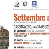 SETTEMBRE AL BORGO – Edizione 47, direzione artistica Enzo Avitabile, dal 4 all'8 settembre