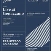"""Francesco Lo Cascio special guest a """"Suoni della Geologia d'Italia"""" al Castello Colonna di Genazzano"""
