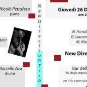 New Direction Trio in concerto al Bar dell'Angolo