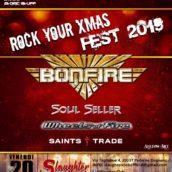 Rock Your Xmas Fest: gli orari e tutti i dettagli del grande evento natalizio con headliner i Bonfire