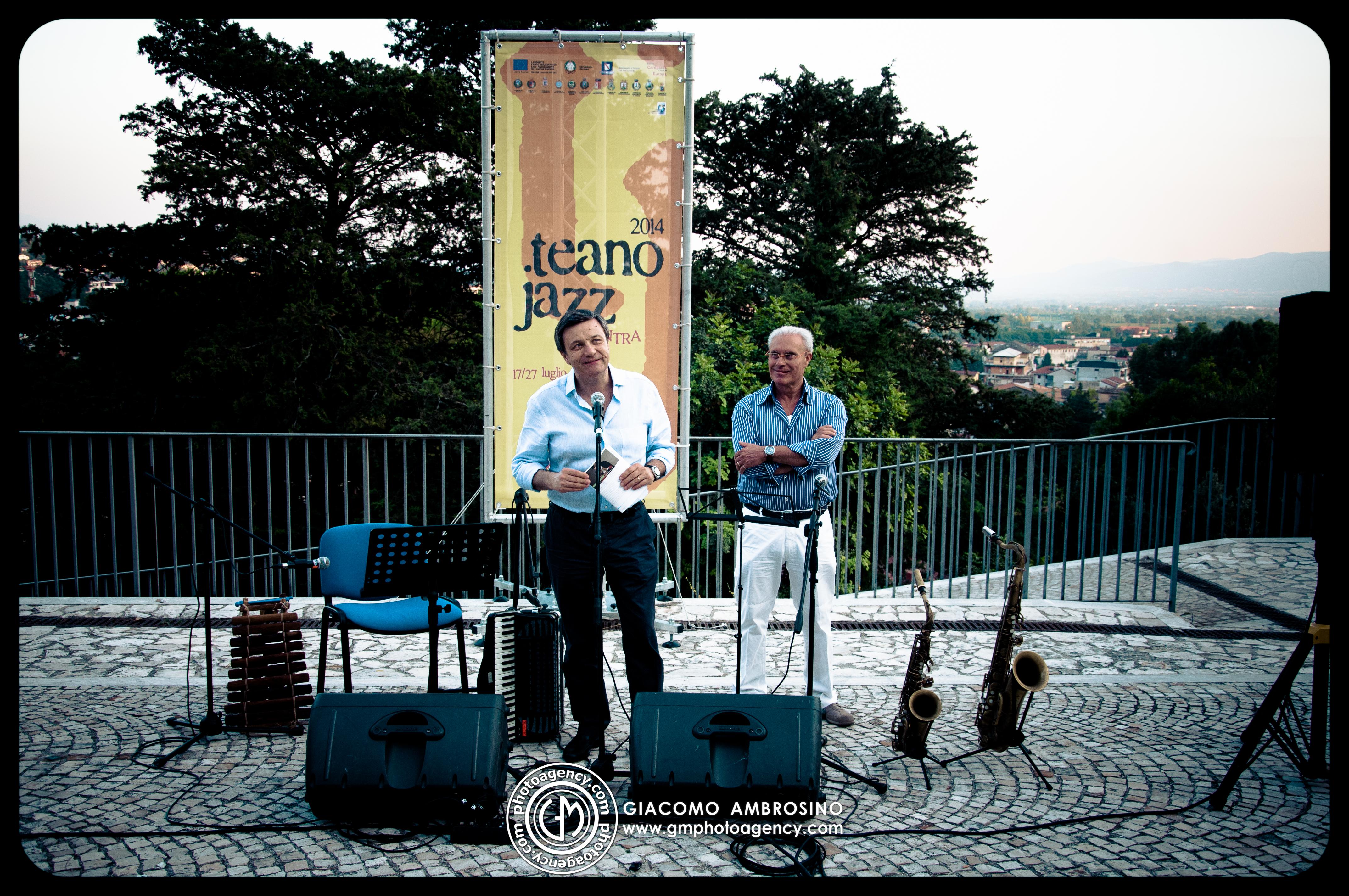Teano Jazz 2014 – Pasquale Innarella e Livio Minafra, Nicola Conte Jazz Combo (Piedimonte Matese) e Giovanni Francesca Quintet (Pietramelara)