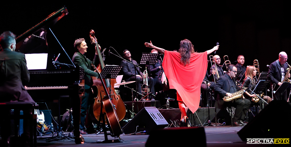 Chiara Civello&Jazz Orchestra di Salerno@Auditorium Parco della Musica di Roma
